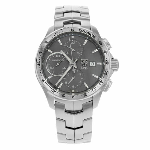 TAG HEUER LINK CAT2013.BA0952 AUTOMATIC CHRONOGRAPH MENS GRAY WATCH GIFT IDEA
