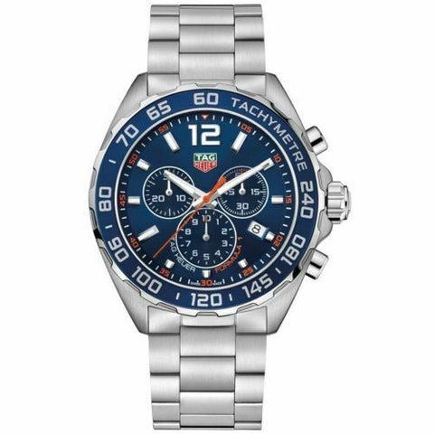 TAG HEUER FORMULA 1 CAZ1014.BA0842 QUARTZ CHRONOGRAPH MENS BLUE MINT SWISS WATCH