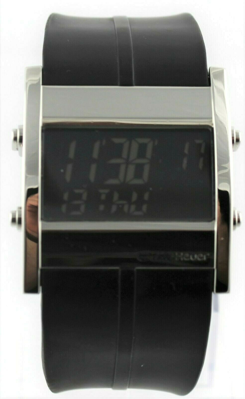 TAG HEUER MICROTIMER CS111C.FT6003 DIGITAL RUBBER SWISS MENS ORIGINAL WATCH