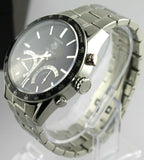 TAG HEUER CARRERA CV7A12.BA0975  LAPTIMER MENS CALBIRE S BLACK LUXURY WATCH