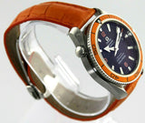 OMEGA SEAMASTER PLANET OCEAN  2909.50 AUTOMATIC CO-AXIAL RUBBER ORANGE WATCH