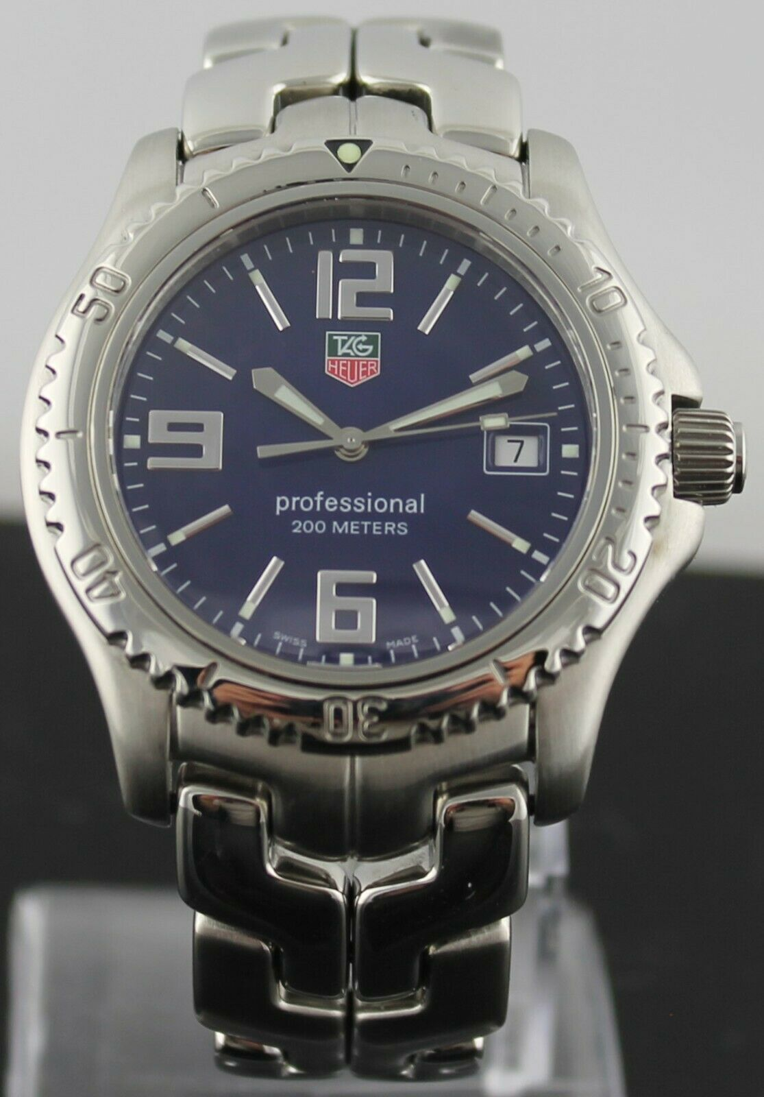 TAG HEUER LINK PROFESSIONAL WT1113.BA0551 BLUE QUARTZ CLASSIC MEN'S SWISS WATCH