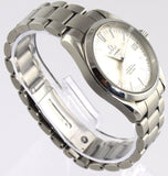 OMEGA SEAMASTER AQUA TERRA 2504.30 AUTOMATIC CO-AXIAL MIDSIZE SILVER STEEL WATCH