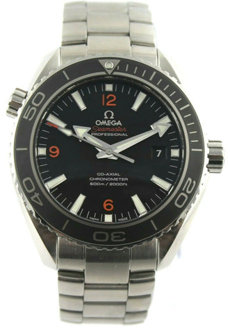 OMEGA SEAMASTER PLANET OCEAN 232.30.46.21.01.003 MENS CO AXIAL CHRONOMETER WATCH