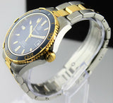 TAG HEUER AQUARACER WAK2120.BB0835 AUTOMATIC BLUE GOLD CERAMIC MENS LUXURY WATCH