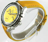 OMEGA SPEEDMASTER MICHAEL SCHUMACHER 3810.12 AUTOMATIC CHRONOGRAPH YELLOW WATCH