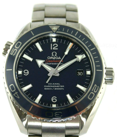 OMEGA SEAMASTER PLANET OCEAN 232.90.46.21.03.001 TITANIUM BLUE WATCH