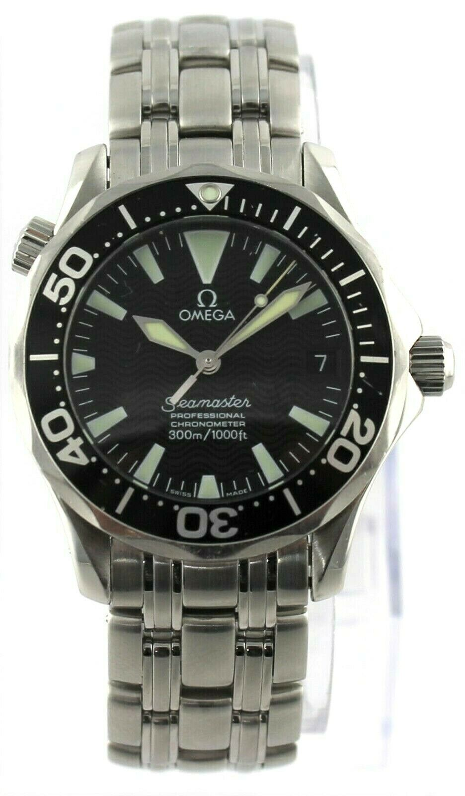 OMEGA SEAMASTER 2052.50 PROFESSIONAL AUTOMATIC LARGE MIDSIZE BOND WATCH SERVICED