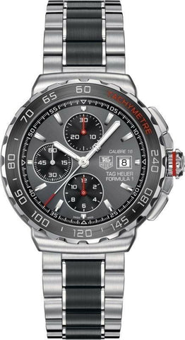 TAG HEUER FORMULA 1 CAU2011.BA0873 AUTO CHRONO CALIBRE 16 CERAMIC RACING WATCH