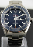 OMEGA SEAMASTER PLANET OCEAN 232.90.46.21.03.001 BLUE CERAMIC TITANIUM WATCH