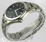 TAG HEUER LINK WJF211A.BA0570 AUTOMATIC CALIBRE 6 MEN'S STEEL BLACK DATE WATCH