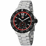 TAG HEUER FORMULA 1 WAU1114.BA0858 GRANDE DATE QUARTZ MENS BLACK RED SWISS WATCH