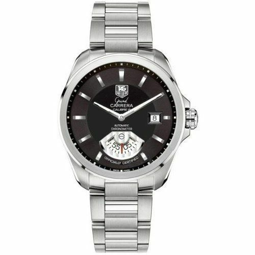 OFFICIAL TAG HEUER GRAND CARRERA WAV511A.BA0900 AUTOMATIC BLACK WATCH WARRANTY