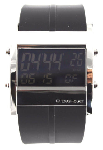 TAG HEUER MICROTIMER CS111C.FT6003 DIGITAL RUBBER SWISS MENS WATCH