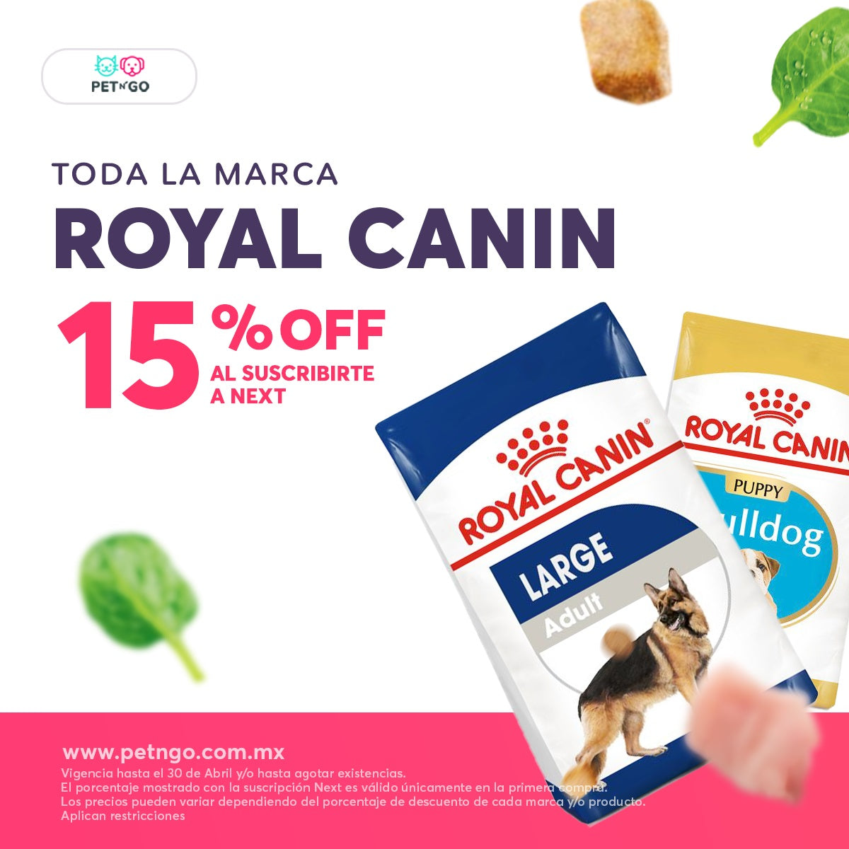 Royal Canin en petngo