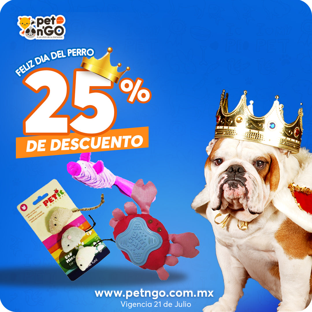 Petit monsters dia del perro petngo