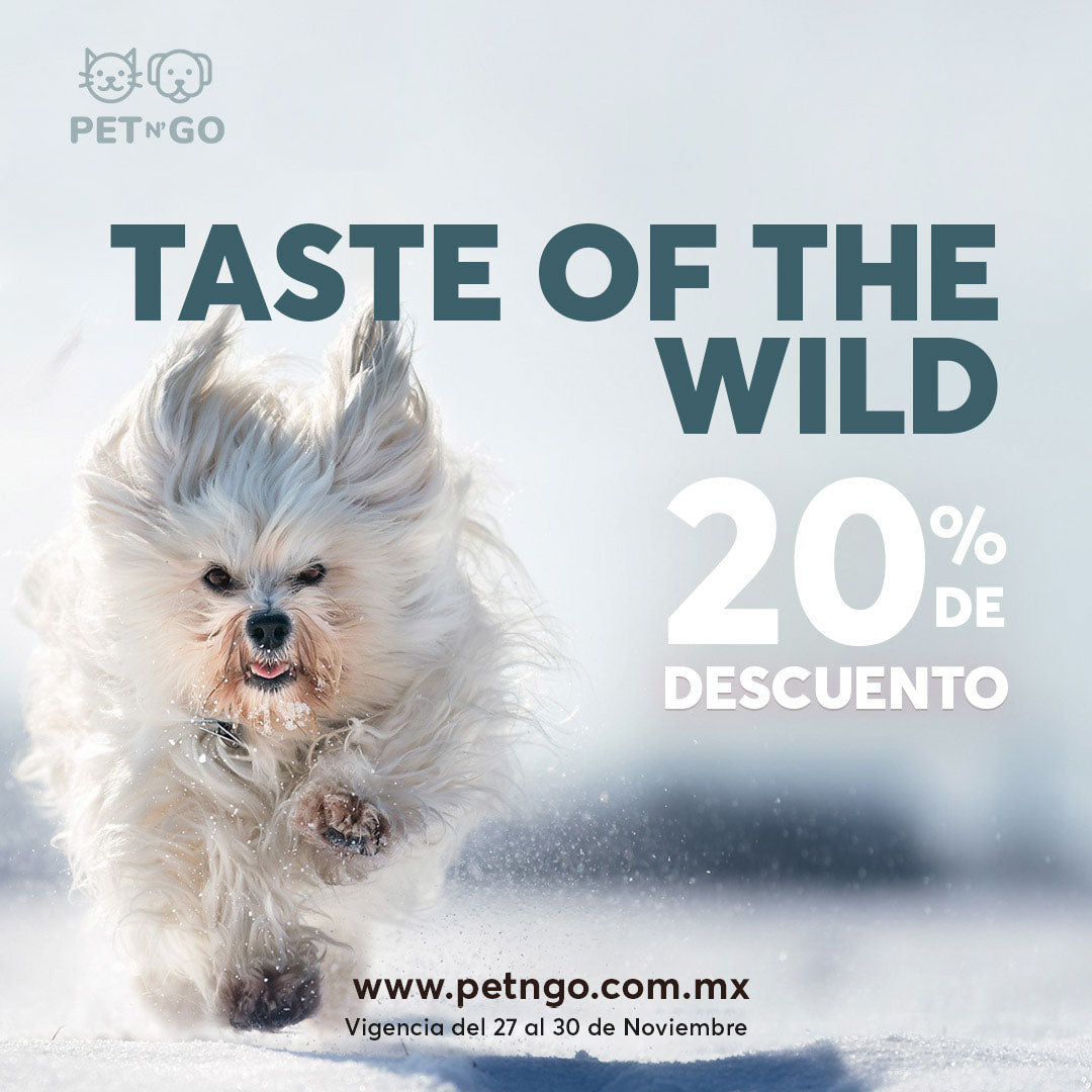 taste of the wild buen fin en petngo
