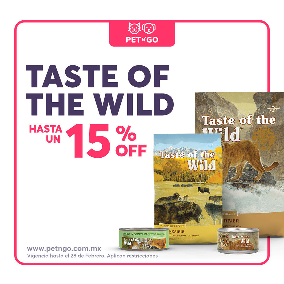 taste of the wild en petngo