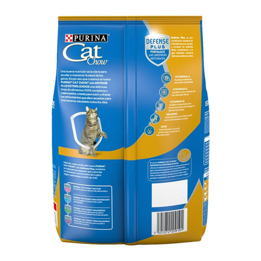 Cat Chow Esterilizados Defense Plus