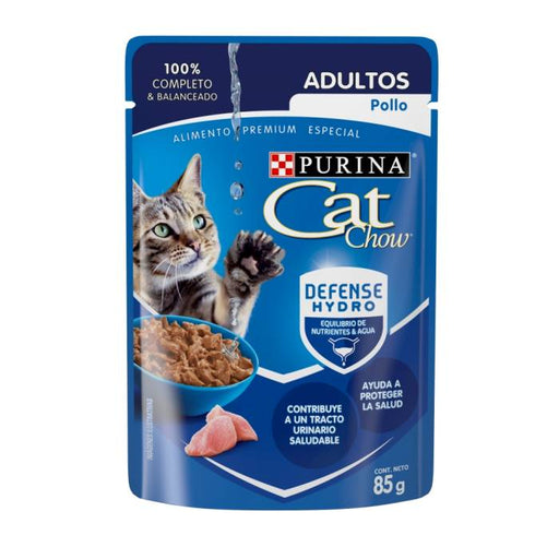 Cat Chow Pouch Adulto Pollo