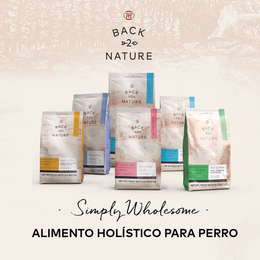 BACK 2 NATURE ESPECIALIDADES - Alimento para perro, Vida plena
