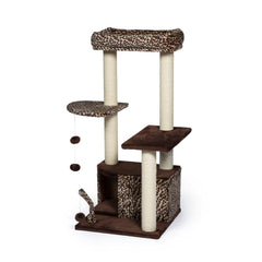 Torre para Gato Kitty Leopard Lounge