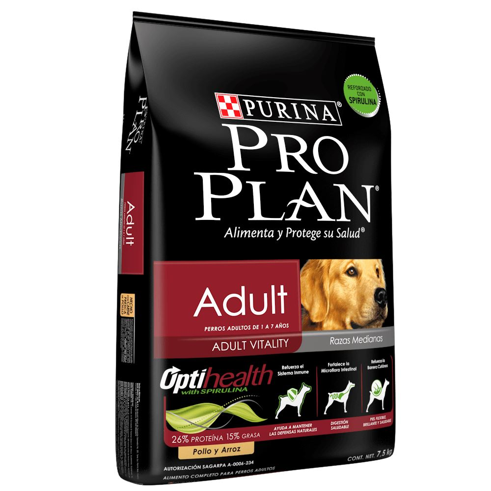 Pro Plan® Adult Razas Medianas OptiHealth-Pro Plan