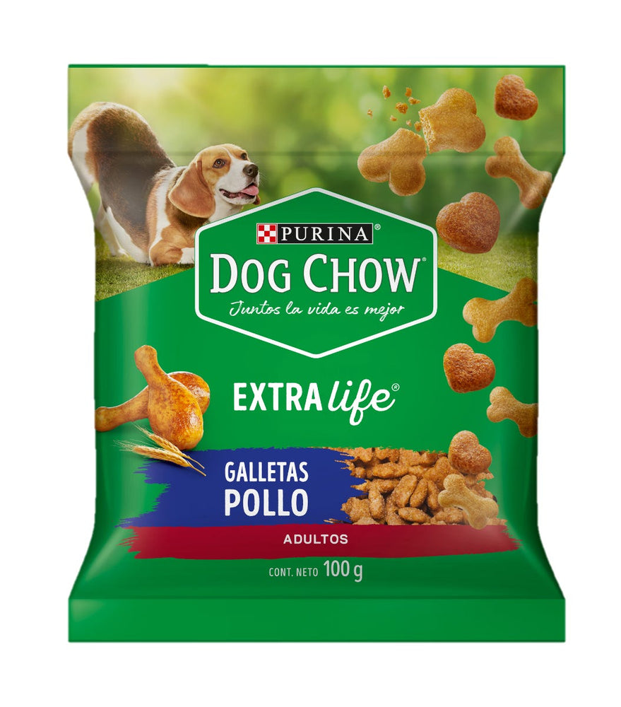Dog Chow Adulto Galleta de Pollo 100g