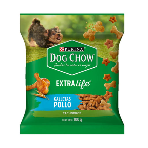 Dog Chow Puppy Galleta de Pollo 100g