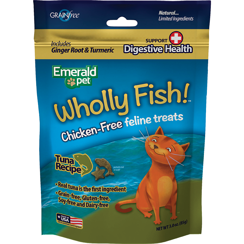 Wholly Fish Digestive Health Atún