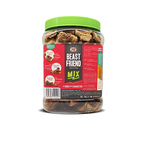 Beast Friend DESHIDRATADOS - MIX Treats para perro