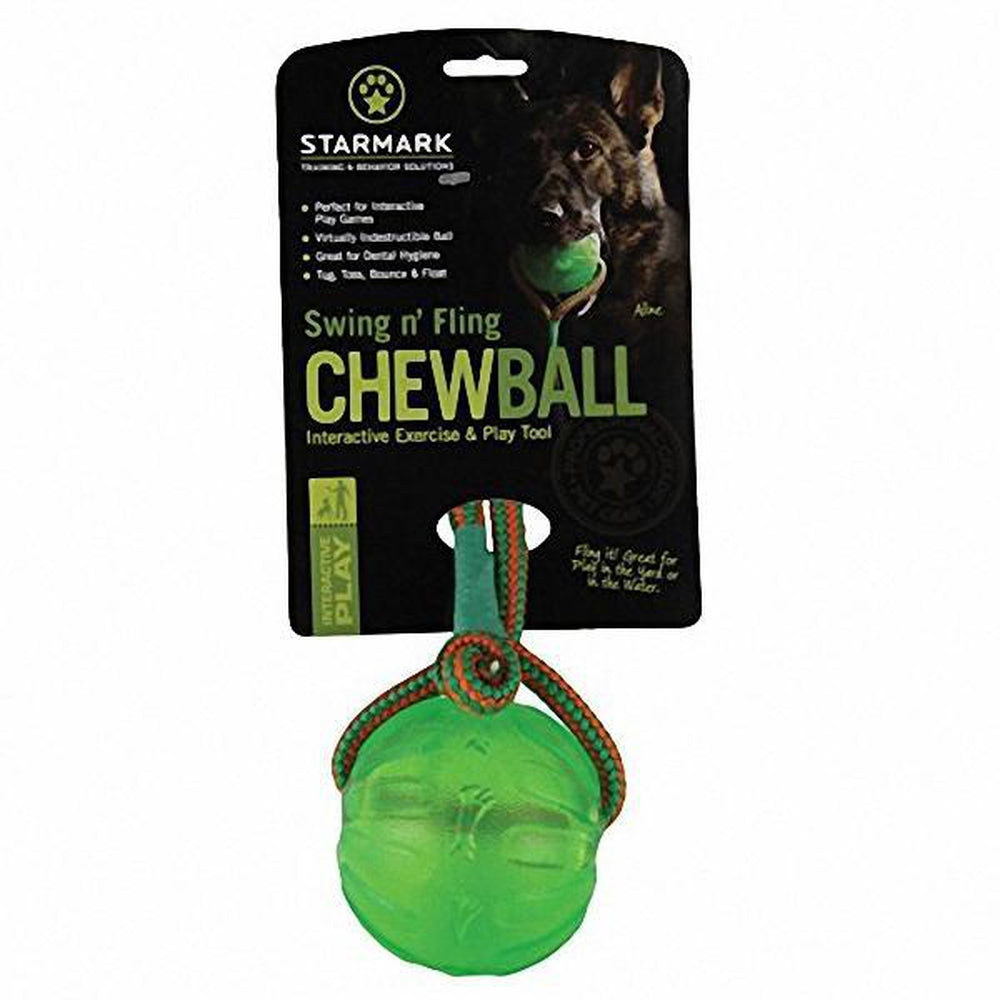 Pelota para perro Swing n' Fling Chew Ball