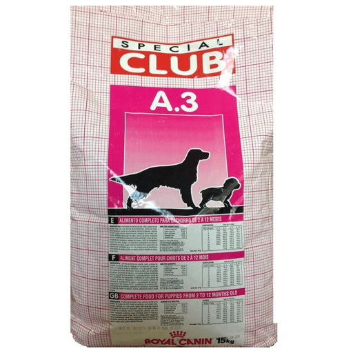 Special Club: Cachorro A3 Royal Canin
