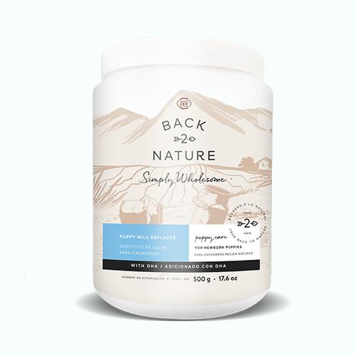 BACK 2 NATURE Papilla para cachorro 500 gr