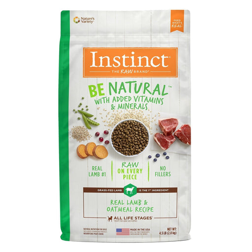 Instinct Be Natural Cordero para Perros