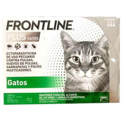 Frontline Plus Gatos 3-Pack Merial