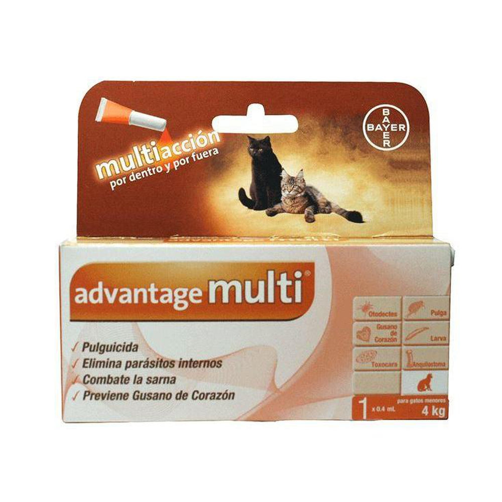 Advantage Multi Gato Bayer Pulgas Sarna