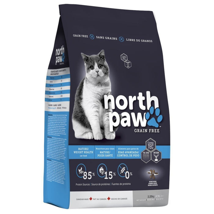 North Paw® Grain Free Mature/Weight Health Cat