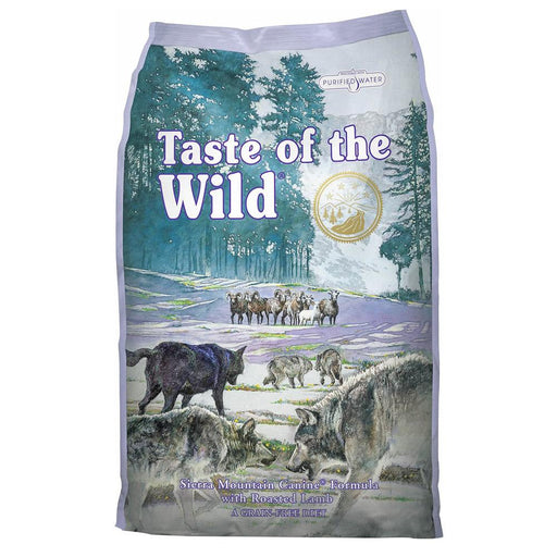 Sierra Mountain Canine Taste of the Wild