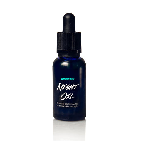 Night Oil - Facial Serum By JusHemp