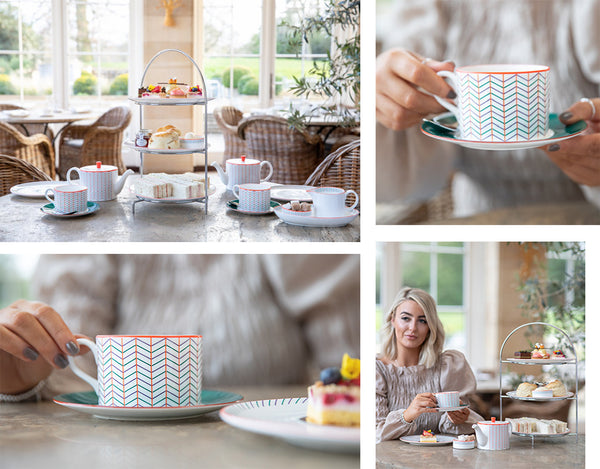 Rudding Park Hotel Afternoon Tea Bespoke China Collection