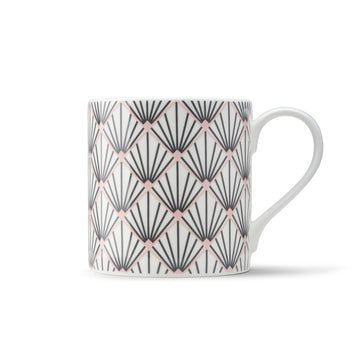 Zighy Mug in Grey and Blush Pink