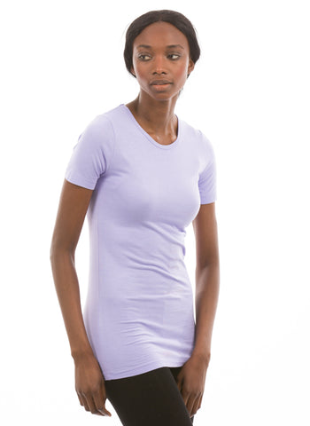 100% Bamboo Women's Short Sleeve Crew Neck (SALE)