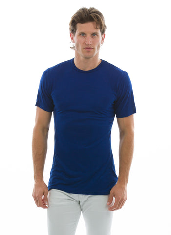 100% Bamboo Men's Short Sleeve Crew Neck