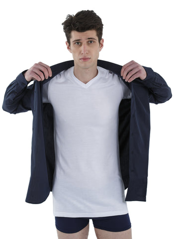 100% Bamboo Men's Undershirt