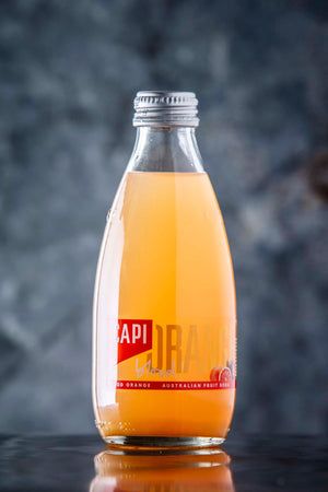Individual Capi assorted flavored mineral waters (250ml)