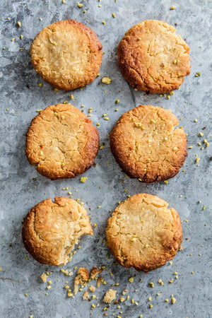 Almond and orange biscuit