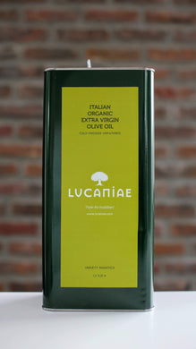 Italian Extra Virgin Olive Oil - BIO - 5 lt. (can)
