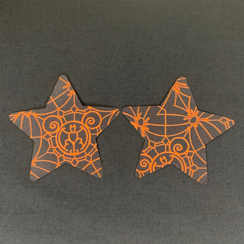 Spooky Spider Star Pasties