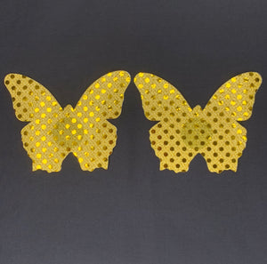 Gold Butterfly Pasties